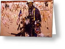 Use 2b So Ez - The Patriot Greeting Card