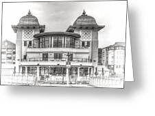 The Pavilion Penarth Pier Dreamy Greeting Card