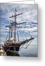 The Peacemaker Tall Ship Greeting Card by Dale Kincaid