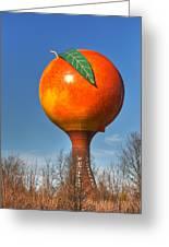The Peach Greeting Card