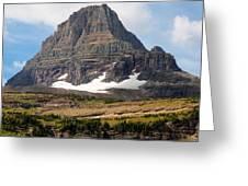 The Peak At Logans Pass Greeting Card
