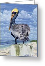 The Pelican Perch Greeting Card