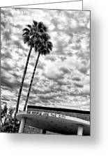 The People Are The City Palm Springs City Hall Greeting Card