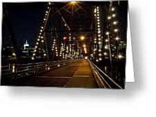 The People's Bridge Greeting Card