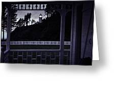 The Perfect Frame For The Heceta Lighthouse Greeting Card