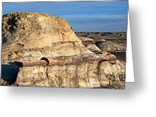 The Petrified Log Greeting Card