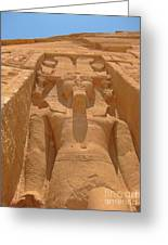 The Pharaoh Greeting Card
