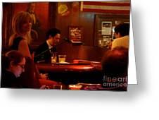 The Piano Bar Greeting Card