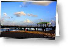 The Pier At Lauderdale By The Sea Greeting Card