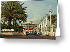 The Pier 2 -  St. Petersburg Fl Greeting Card