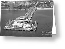 The Pier St Petersburg Fl Greeting Card