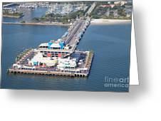 The Pier St Petersburg Florida Greeting Card