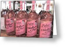 The Pink Drink Greeting Card