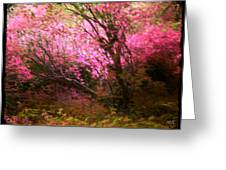The Pink Forest Greeting Card