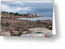The Pink Granite Coast Brittany Greeting Card