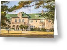 The Pink Palace Museum Memphis Tn Usa Greeting Card
