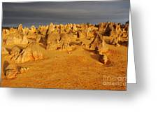The Pinnacles 4 Greeting Card