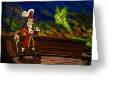 The Pirate And The Fairy Greeting Card
