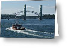 The Piscataqua River Greeting Card