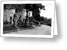 The Platt's House In New Jersey Greeting Card