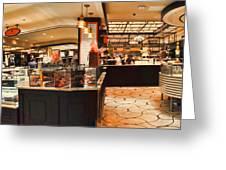The Plaza Food Hall Greeting Card