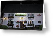 The Plough Inn Greeting Card