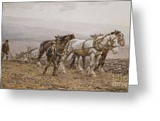 The Ploughman Wilmington Polegate Near Eastbourne Greeting Card