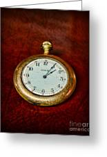 The Pocket Watch Greeting Card
