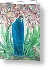 The Poet And The Dog Greeting Card