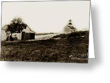 The Point Pinos Lighthouse Pacific Grove California Circa 1895 Greeting Card
