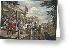 The Polling, Illustration From Hogarth Greeting Card