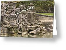 The Ponds Of Versailles - 1  Greeting Card