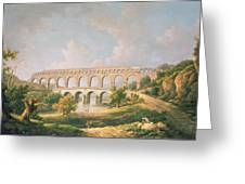 The Pont Du Gard, Nimes Greeting Card