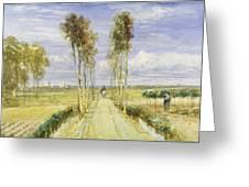 The Poplar Avenue Greeting Card