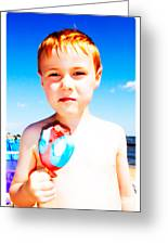 The Popsicle Greeting Card by Edward Fielding