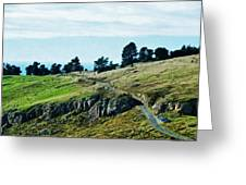 The Port Hills Greeting Card