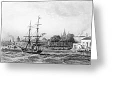 The Port Of New Orleans Greeting Card