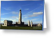 The Portsmouth Naval Memorial Southsea Greeting Card