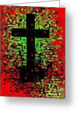 The Potted Cross Greeting Card