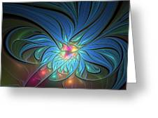 The Power Of Light Greeting Card