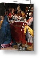 The Presentation In The Temple Greeting Card