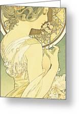 The Primrose Greeting Card