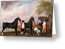 The Prince Of Wales Phaeton Greeting Card