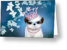 The Princess Greeting Card