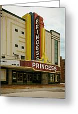 The Princess Theatre Greeting Card