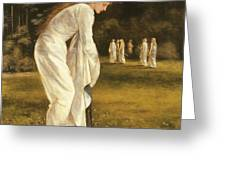 The Princess Tied To A Tree Greeting Card by Sir Edward Coley Burne-Jones