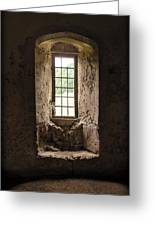 The Priory Window Greeting Card
