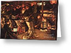 The Prodigal Son In Foreign Climes Greeting Card by Pg Reproductions
