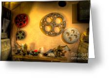 The Projection Room 4675 Greeting Card