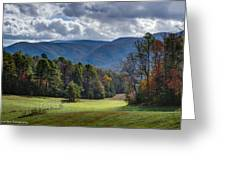 The Promised Land Cades Cove Greeting Card